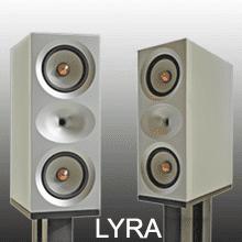 LYRA 2-WAY STAND MOUNT AUDIO SPEAKERS