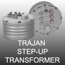 TRAJAN STEP-UP TRANSFORMER
