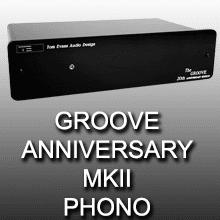 Tom Evans Groove Anniversary MKII phono