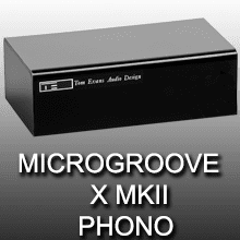 Tom Evans Microgroove X MKII phono